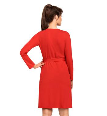 Халат на запахе Jasmine dressing gown Red
