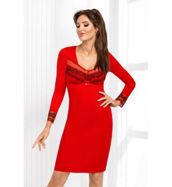 Сорочка с длинным рукавом Jasmine II nightdress Red