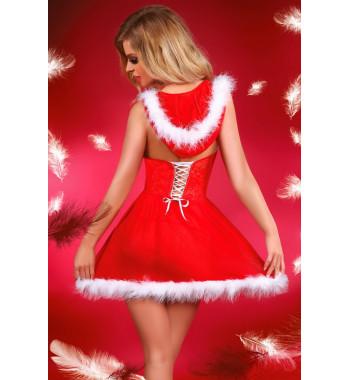 Соблазнительное новогоднее платье Snowflake