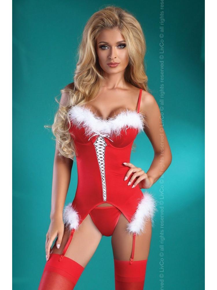 Праздничный корсаж Christmas Angel