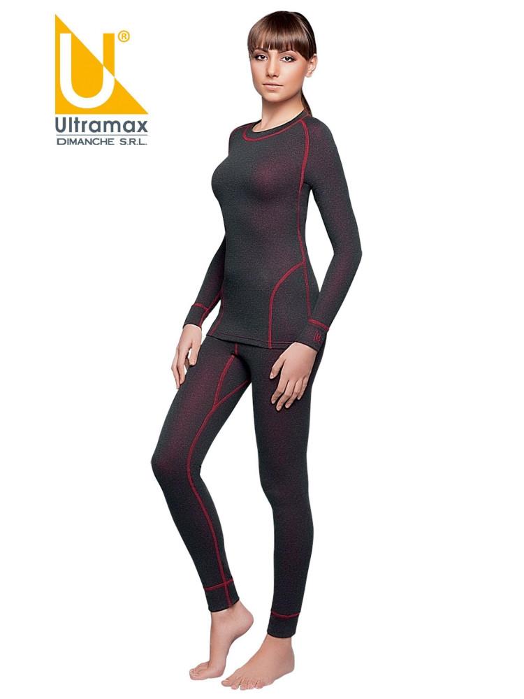 Комплект термобелья женский Ultramax Dry Mix U1122NEW-BLKR