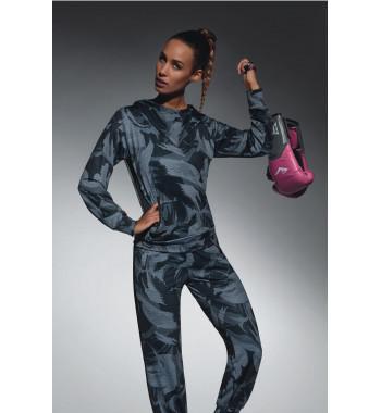 Толстовка с капюшоном для фитнеса Athena blouse 200 den