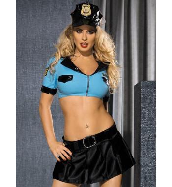 Эротический костюм полицейского Caprice Police Lady