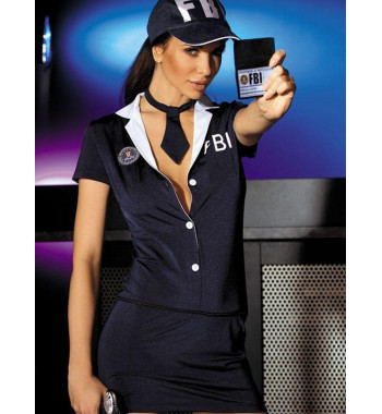 Эротический костюм полицейского Caprice Private Agent