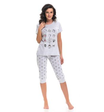 Пижама Dobranocka PM.9222 Grey
