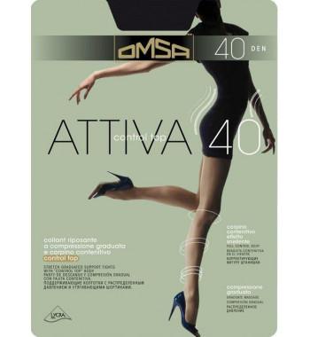 Колготки женские OMSA ATTIVA control top