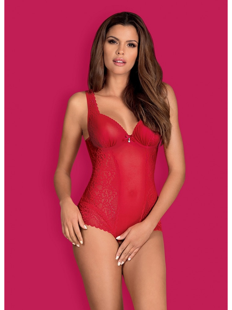 OBSESSIVE ROUGEBELLE Teddy Боди