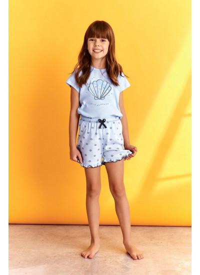TARO 2388/2389 SS21 KLARA Пижама для девочек с шортами