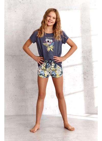 TARO 2384 SS21 GABI Пижама для девочек с шортами
