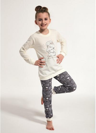 CORNETTE 594/592 SHEEP Пижама для девочек со штанами