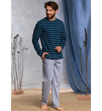 KEY MNS 371 20/21 Пижама мужская со штанами
