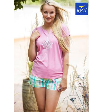 KEY LNS 453 1 A21 Пижама женская с шортами