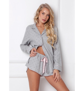 ARUELLE CHRISTY GREY Пижама женская с шортами
