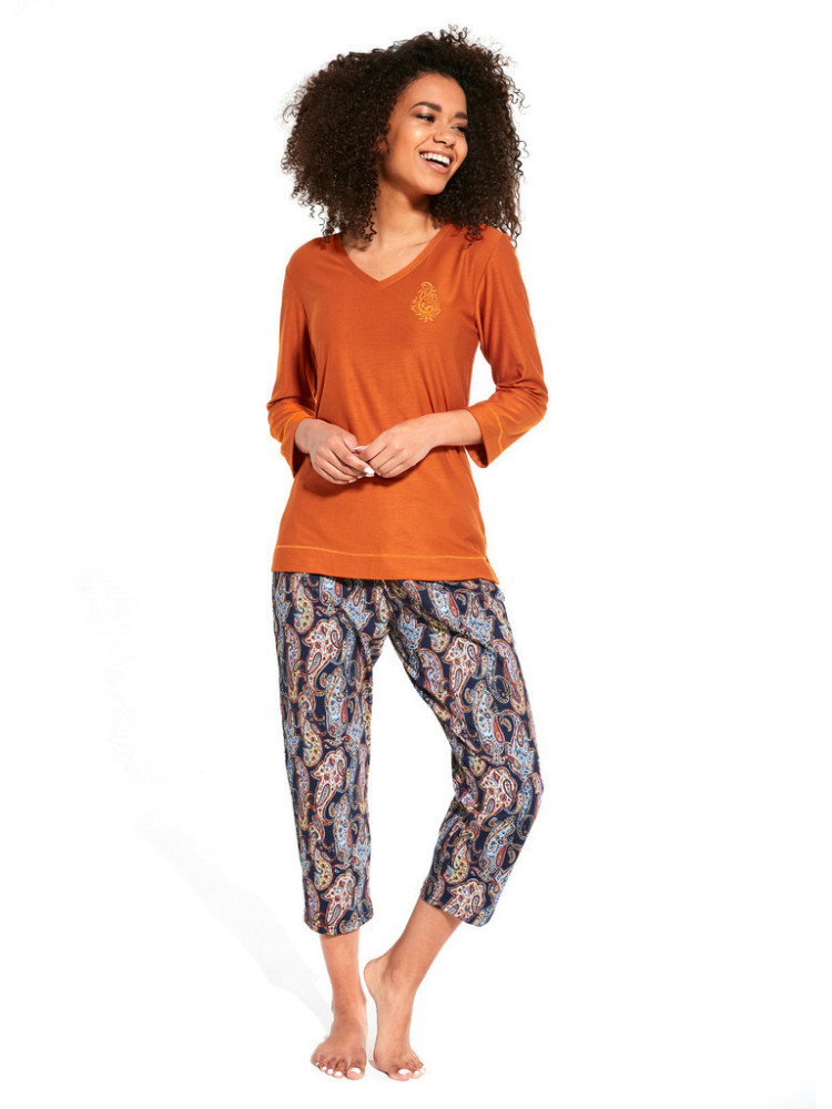 CORNETTE 389 ORNAMENT MIEDZ Пижама женская со штанами