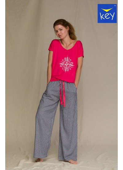 KEY LNS 451 3 A21 Пижама женская со штанами