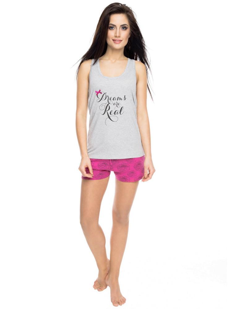 ROSSLI PY-1053 Пижама женская с шортами