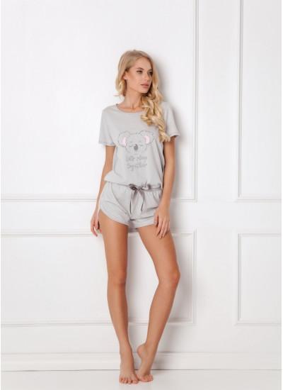ARUELLE KOALLY GREY Пижама с шортами