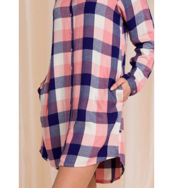 KEY LND 405 20/21 Сорочка/рубашка женская