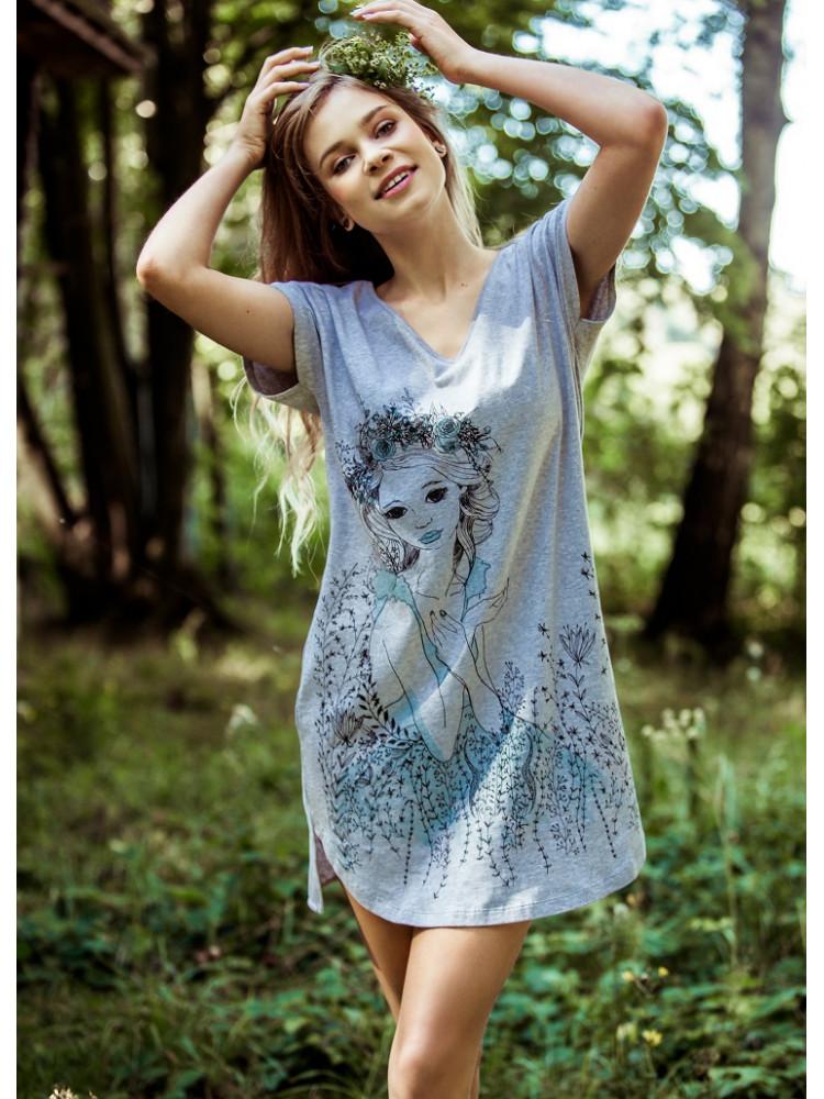 KEY LND 799 Платье домашнее/Сорочка