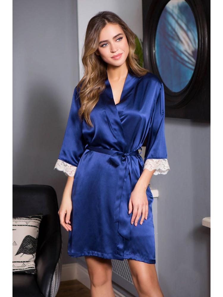 Халат Kristy 15113 т.синий