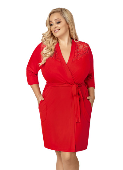 Халат Tess plus dressing gown Red
