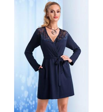 Taylor dressing gown Dark Blue