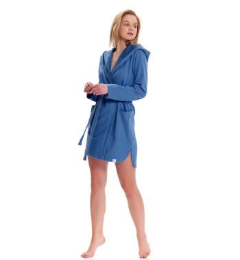 Халат SMW.9456 Royal Blue