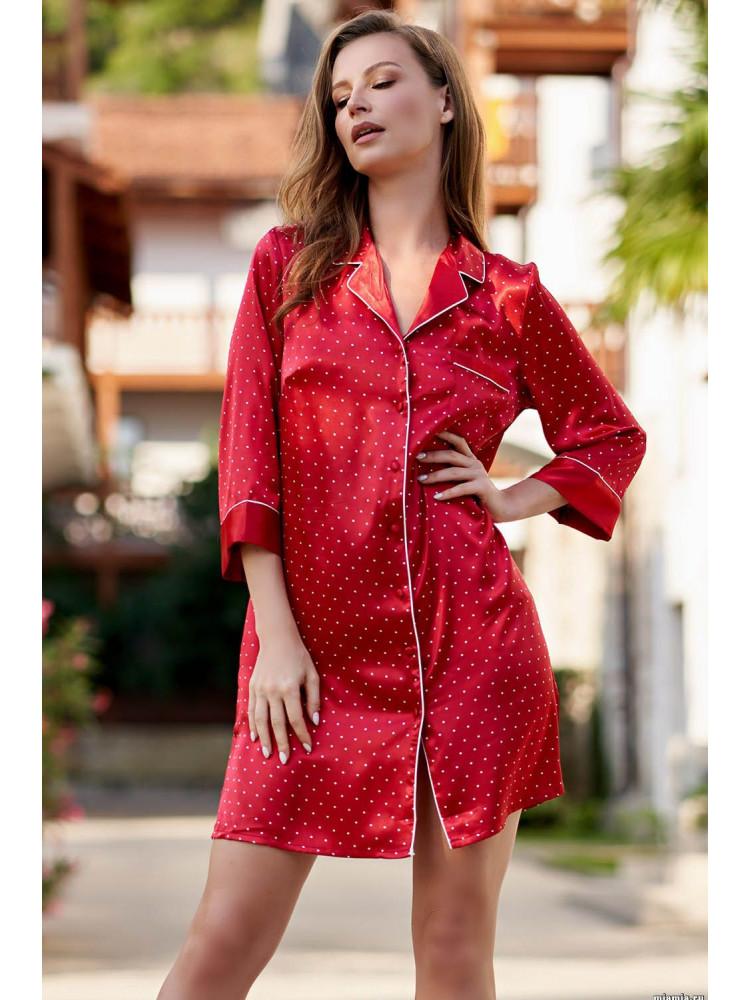 Халат Dorothy 8707 красный