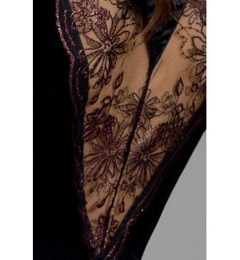 Brida peignoir Black
