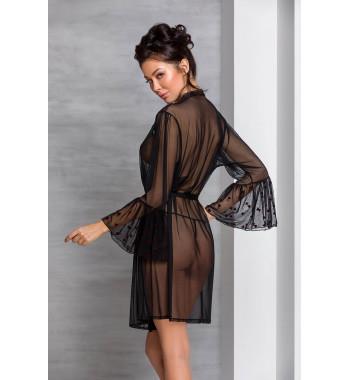 Lovelia peignoir Black