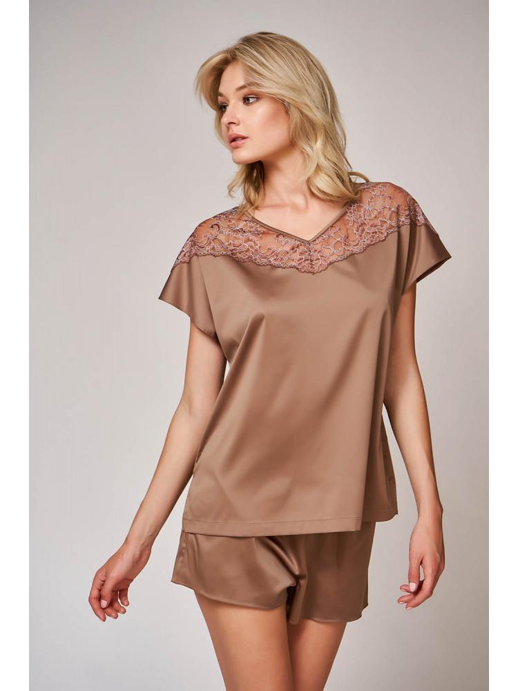 Пижама 60468 Коричневый
