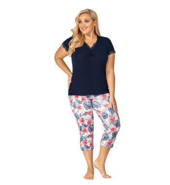 Пижама Mila 3/4 plus pyjamas
