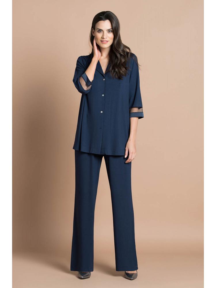 Пижама 51728 Синий