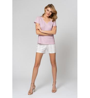 Пижама 51815L-1 Розово-Коричневый