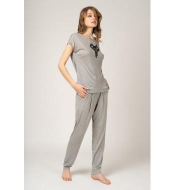 Пижама 56335 Серый