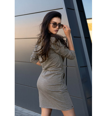 D14 Ponitama sukienka Grey