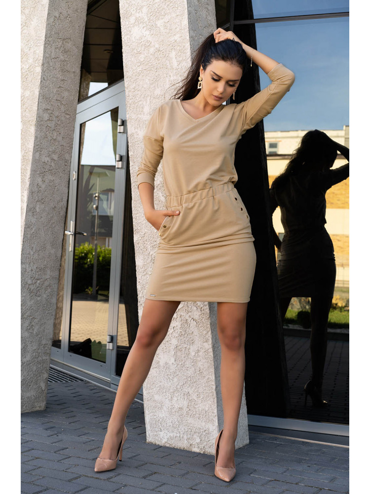D14 Ponitama sukienka Beige