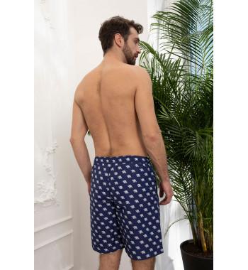 Мужские шорты 18180-5 Синий
