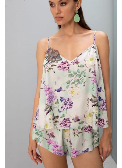Шорты 61682 Цветы