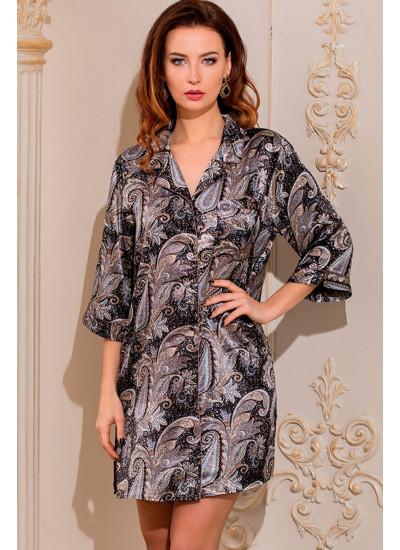 Халат-рубашка Donatella 3127