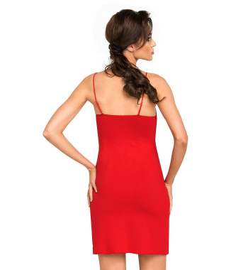 Brigitte II nightdress Red