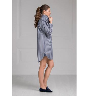 Сорочка 61408 Серый