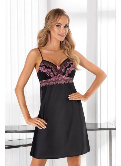 Sofia nightdress Black
