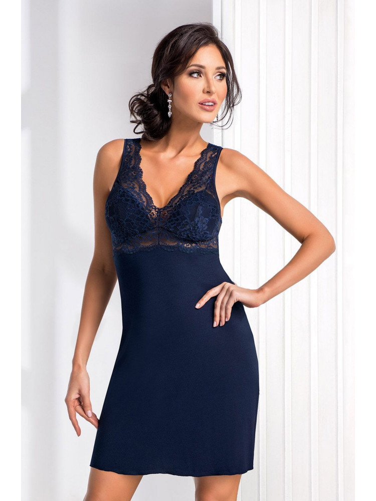 Chantal nightdress Dark Blue