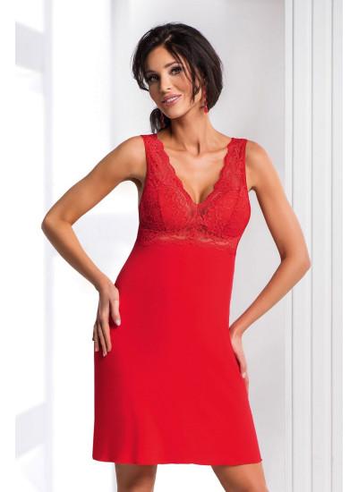 Chantal nightdress Red