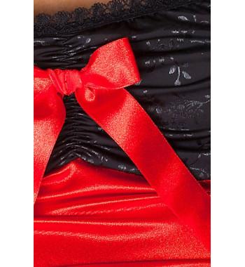 Lena chemise Red