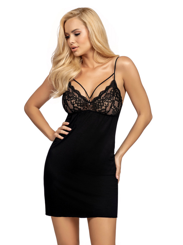Lulu nightdress Black