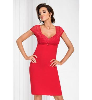 Brigitte nightdress Red
