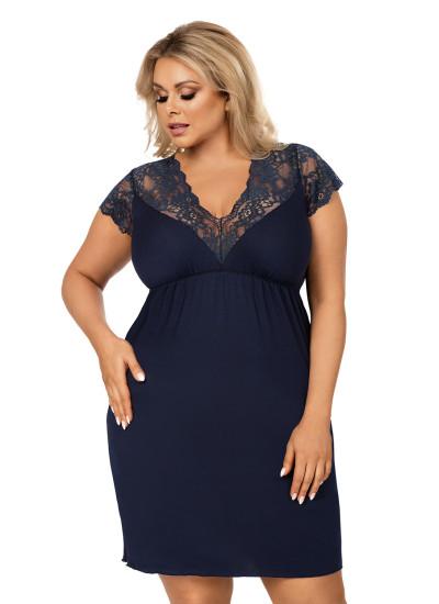 Tess plus nightdress Dark Blue