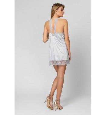 Сорочка 60486L-2 Светло-Серый